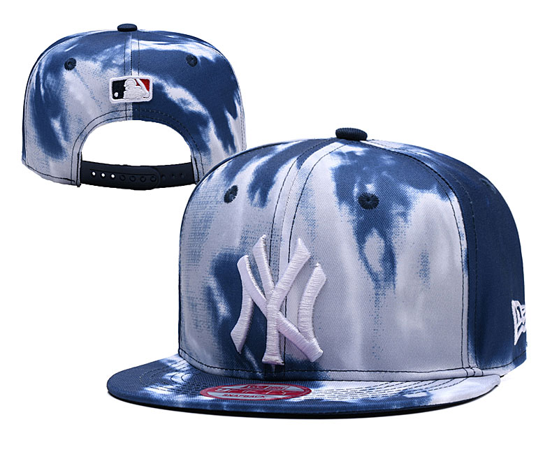 Yankees Team Logo Smoker Adjustable Hat YD