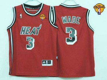 quality design af3f6 05283 Youth NBA Miami Heat #3 Dwyane Wade Red Hardwood Classics ...