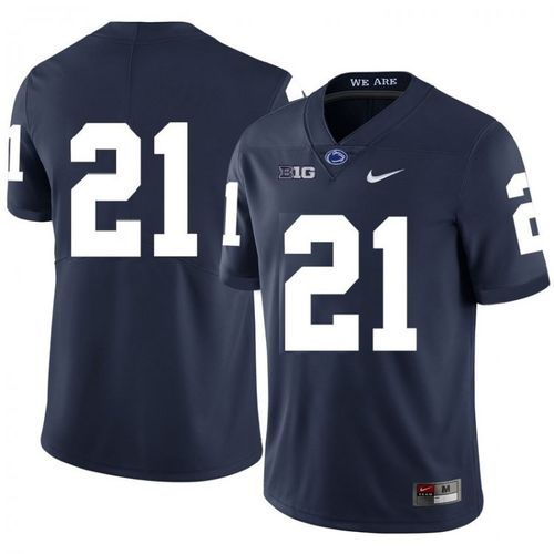 Youth Penn State Nittany Lions #21 Noah Cain Navy Football Jersey