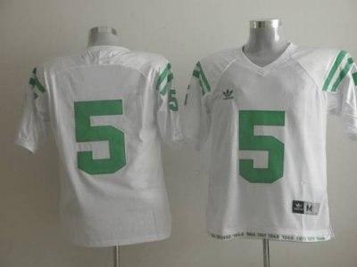dame #5 fighting irish white embroidered ncaa jersey