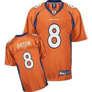 the latest 73ac4 1f5bb denver broncos #8 kyle orton orange jerseys on sale,for ...