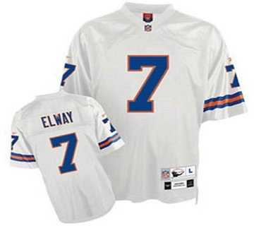 on sale 35a9e d53aa denver broncos 7 john elway white jerseys on sale,for Cheap ...