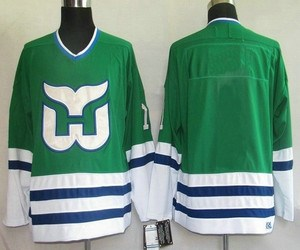 hartford whalers blank green(ccm)nhl jerseys