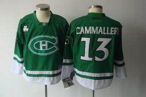 montreal canadiens 13 cammalleri 2011 st pattys day green jerseys