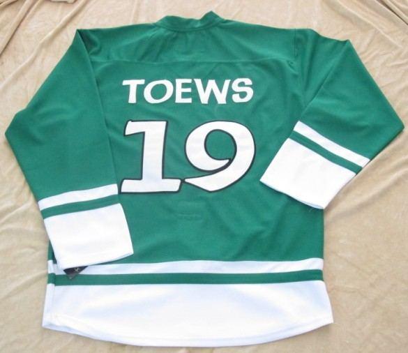 st partys day nhl chicago blackhawks 19 janathan toews green