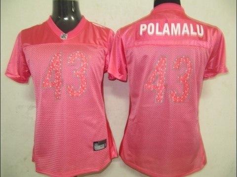 huge selection of 68458 cadc3 pittsburgh steelers #86 ward pink fem fan women jerseys on ...